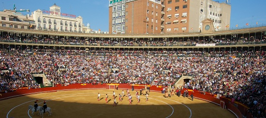 Bullfighting is the second most popular mass spectacle in Spain